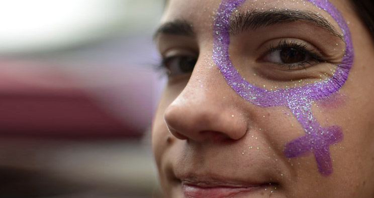 International Women's Day in Sao Paulo. Foto: picture alliance / Cris Faga