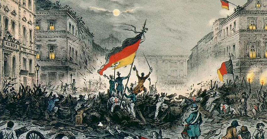 Märzrevolution 1848 in Berlin, wikimedia, public domain